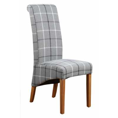 Mull Granite Fabric Dining Chair