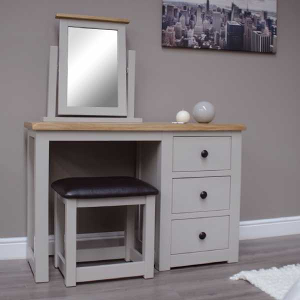 Diamond Dressing Table and Stool