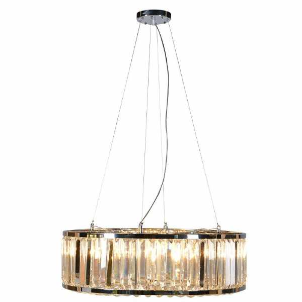 sc 1 st  Woodpecker Interiors & Decorative Modern Glass Crystal Polo Round Chandelier Ceiling Light