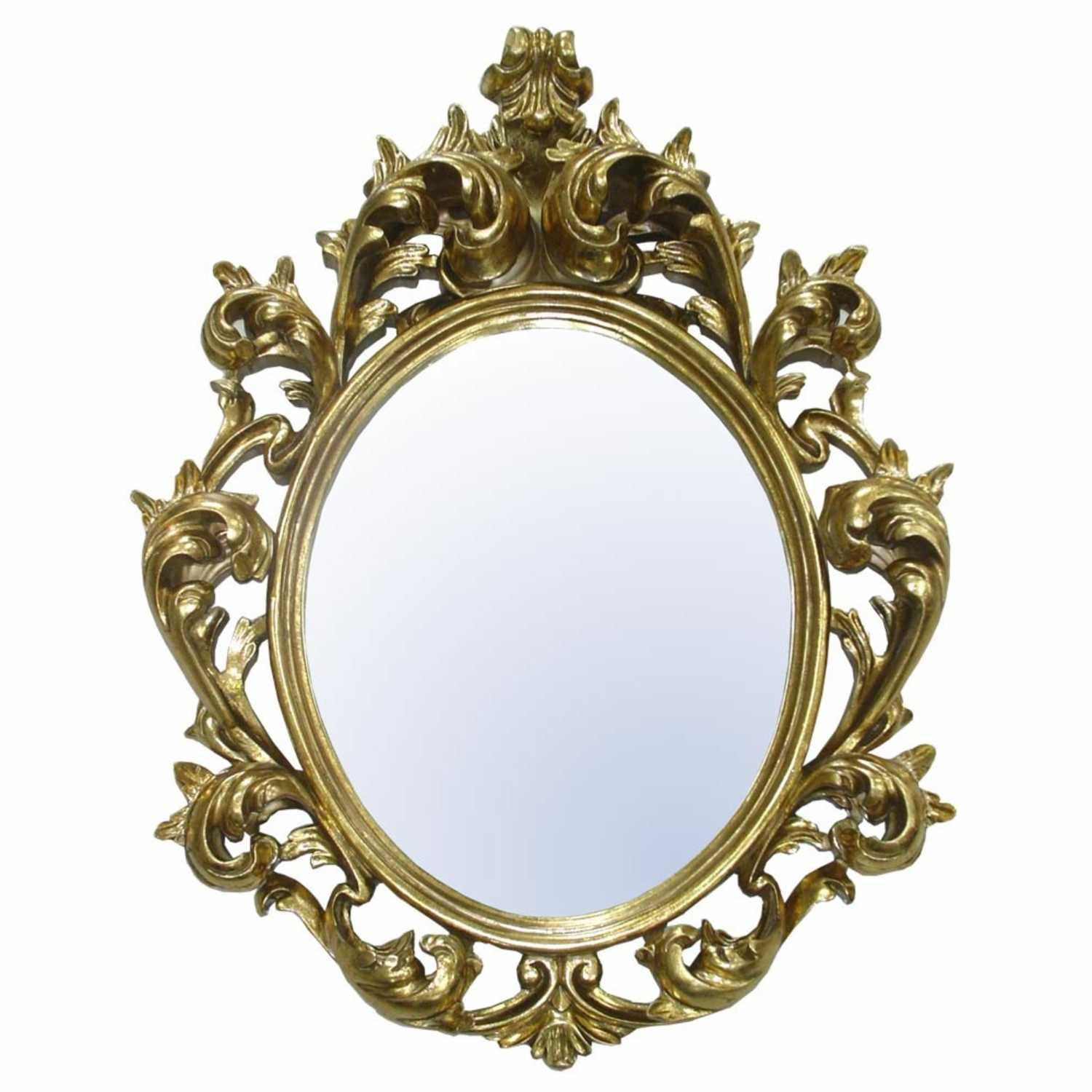 Large Ornate Gold Wall Mirror